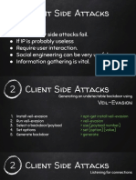 Gaining Access Client Side Attacks