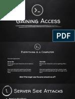 056 Gaining Access Server Side Attacks