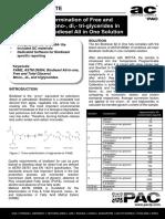 AC ASTMD6584 Glycerol Biodiesel