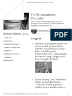 Resep Fluffy Japanesse Pancake Oleh Emy Febria - Cookpad