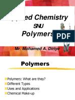 Applied Chem, Polymer Le9