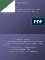 Proiectarea Asistată Pe Calculator a Tehnologiilor de Prelucrare FolosinD Esprit 2013