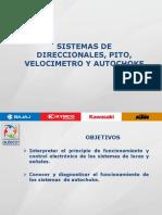 Sistemas de Direccionales, Luces, Pito, Velocimetro y Autochoke