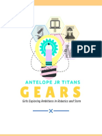 - gears program outline -