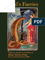 Fords Faeries a Bestiary Inspired by Henry Justice Ford