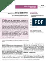 Density Functional Study of Molecular Orbitals of Cobaltocene and Nickelocene Molecules