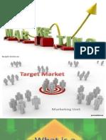 Target Market Ppt