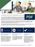 Windows SA Per User at a Glance