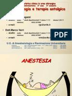 INFERMIERISTICA ANESTESIA