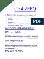Healthy Soft Drink