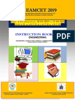 Apeamcet2019 Instruction Booklet Engineering
