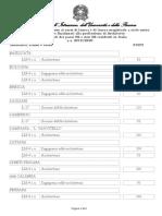 D.M. n.592 Del 27-06-2019- Allegato Tabella Posti Architettura