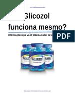 Glicozol Funciona Mesmo