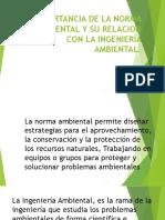 Importancia de La Norma Ambiental en La Ingeniería