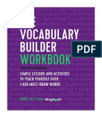 the vocabulary builder work book bymagoosh