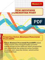 BAB-9 Sistem Akuntansi Pemerintah Pusat.ppt.pptx