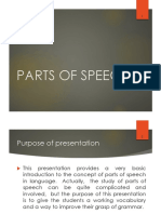 Parts of Speech-eng(version)