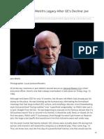 Bloomberg.com-Reassessing Jack Welchs Legacy After GEs Decline Joe Nocera