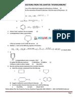 Hsslive XI Chemistry QB Ch 13. Hydrocarbons