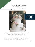 Mae Niel Cakes