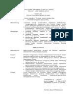 1.3.1.1 Sk Struktur Organisasi Klinik