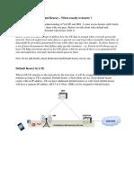 LTE Bearer Description