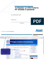 How to Register on Uan Portal to Check Epf E-passbook