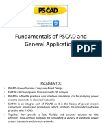 Fundamentals of PSCAD & General Applications