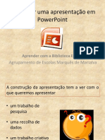 Lista Exercicios - Power Point