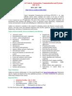 International Journal of Control Automat