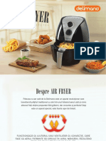 Carte Retete Delimano Air Fryer