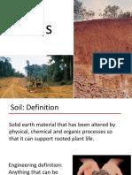 four types of soil