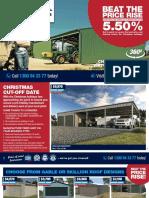 Wide Span Sheds Catalogue SE
