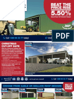 Wide Span Sheds Catalogue CYC