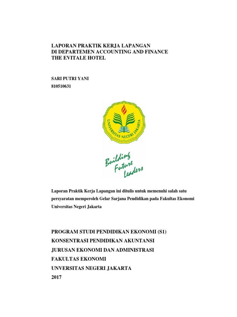 Laporan Pkl Sari Putri Yani Pendaki B 8105150631 1 1 Pdf