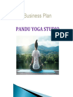 Business Plan of Pandu Yoga Studio