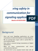 En 50159 Safety Related Communication