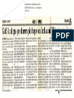 1998-10 Gulf Arab Gas Producers Pin Hopes on India and China to Ease Gloom Panelist Vishvjeet Kanwarpal CEO GIS-ACG in the Gulf Times