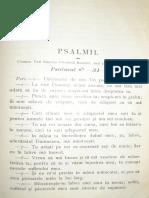 Popescu-Malaiesti Ioan, Psalmul 30