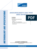 Argus Mccloskeys Coal Price Index Report