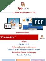 AppCode Business Presentation