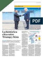 La Histórica Cita Entre Trump y Kim