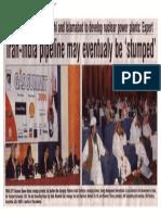 2006-04 Iran-lndia Pipeline May Eventually Be 'Stumped' Panelist Vishvjeet Kanwarpal CEO GIS-ACG