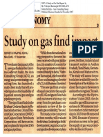 2007-11 Study on Gas Find Impact Panelist Vishvjeet Kanwarpal CEO GIS-ACG in Business Standard