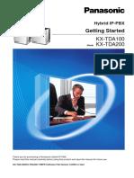 Getting_Started KX TDA100BX.pdf