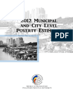 2012 MUNICIPAL AND CITY LEVEL POVERTY ESTIMATES