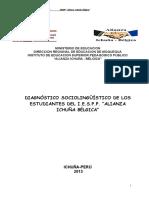 Diagnóstico Sociolinguistico