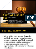 Neutral & Early Neutral Evaluation 051119