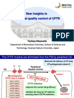 New insights in peripheral quality control of CFTR