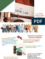 Clase 1 y 2 Derecho Laboral y Contrato